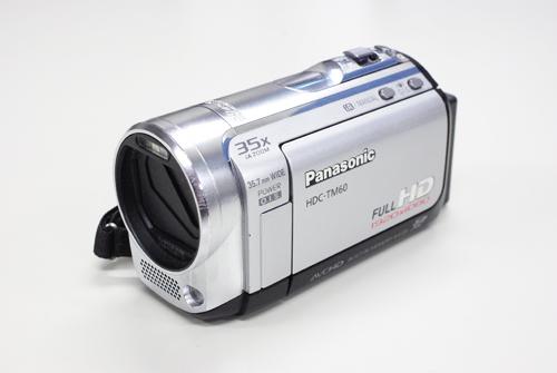 Panasonic HDC-TM60 ビデオカメラ データ復旧