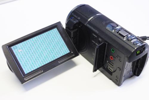 SONY Handycam HDR-PJ590V ビデオカメラ 落下