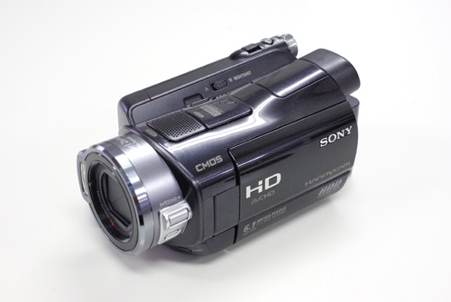 SONY Handycam HDR-SR8 ビデオカメラ データ復旧