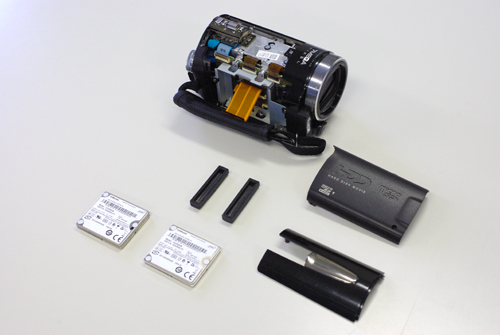Victor Everio GZ-MG740 「カメラの温度が低すぎます」