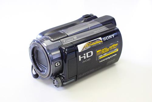 SONY Handycam HDR-XR150 データ復旧