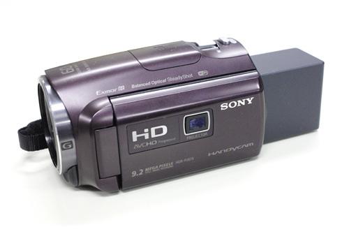 SONY Handycam HDR-PJ670 データ復旧
