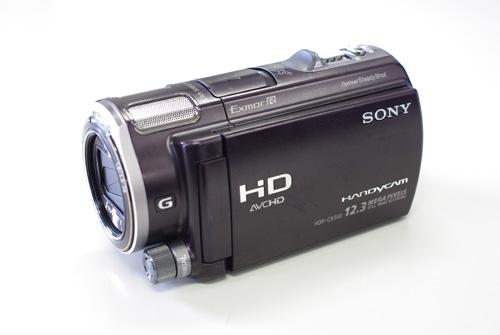 SONY Handycam HDR-CX560V データ復旧
