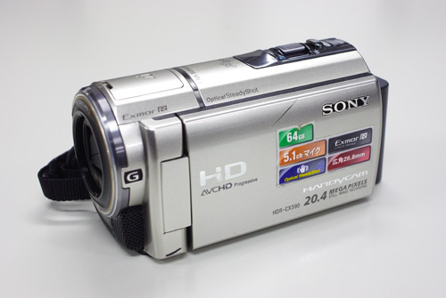 SONY Handycam HDR-CX590V データ復元