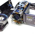 SONY Handycam HDR-CX370V 撮影中に海水に落下故障【ビデオカメラ データ復旧(水没)】