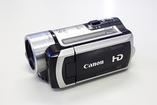Canon iVIS HF11 落下 電源が入らない データ復旧