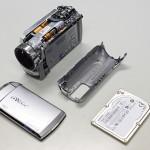Victor Everio GZ-MG650 落として液晶がちぎれた、電源が入らない【ビデオカメラ データ復旧(落下)】